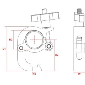 Truss Fast Trigger Clamp