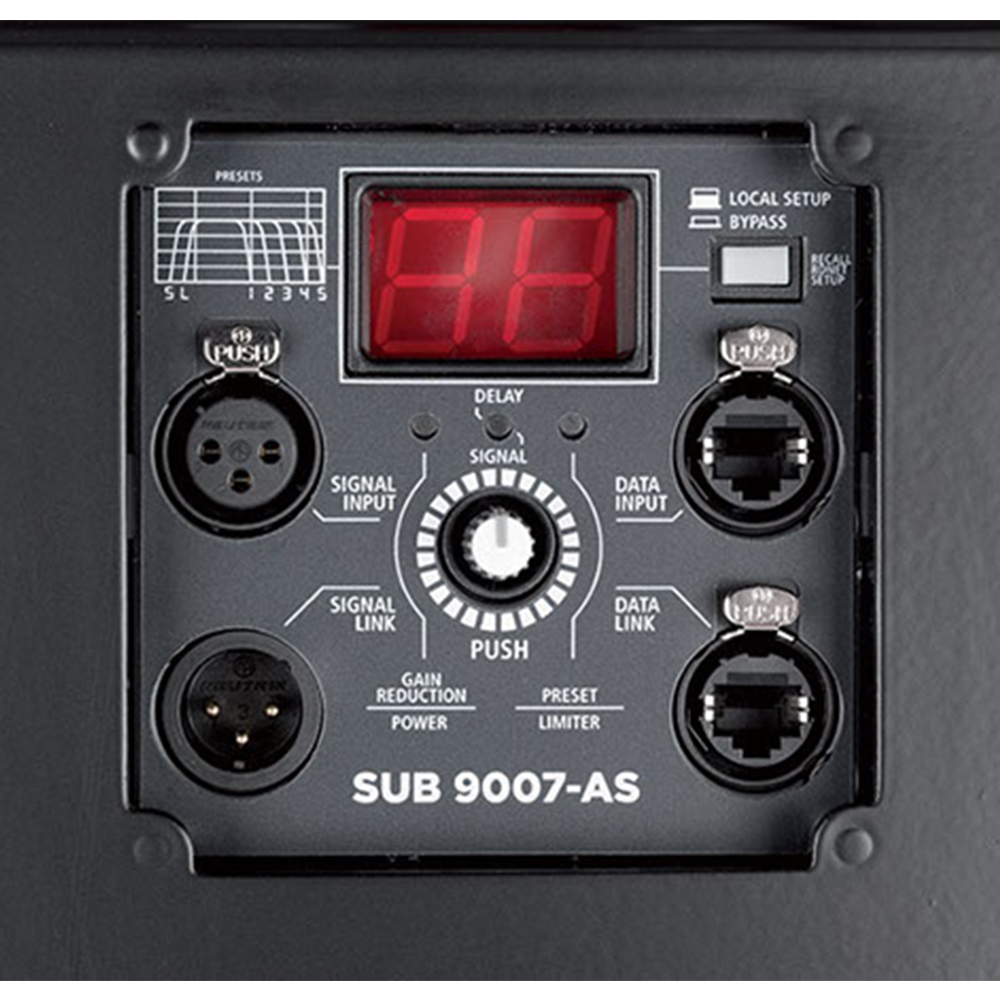RCF SUB 9007-AS High Power Active Dual 21