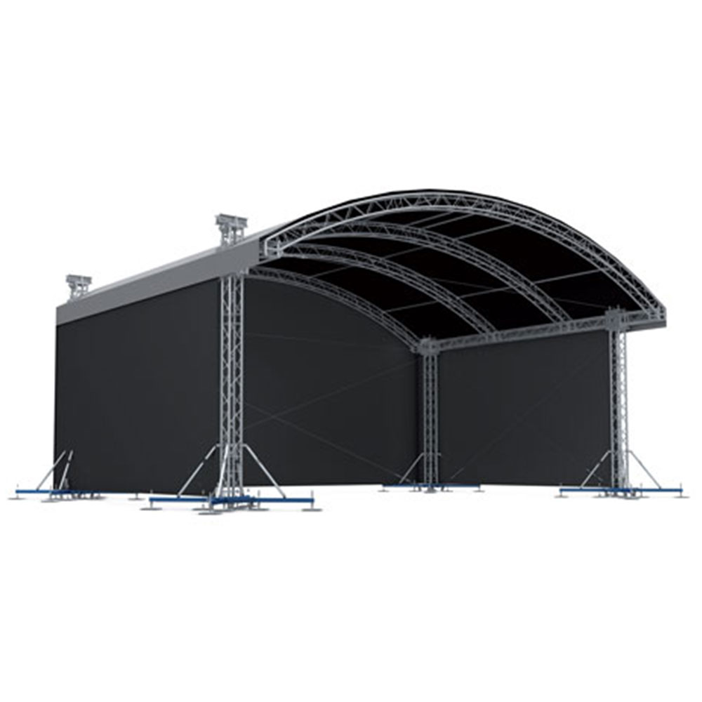 Milos Mr1t Arched Roof System 10x6m Stage Concepts