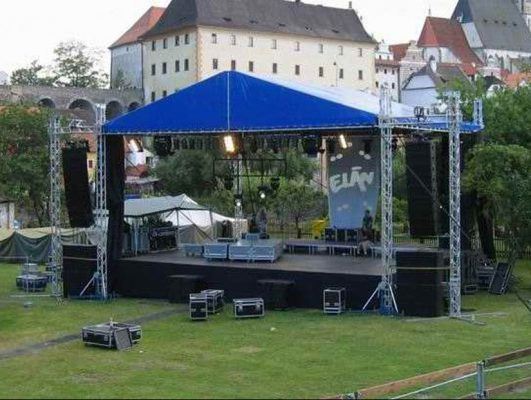 Large Stage Roof System