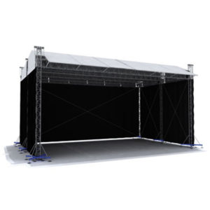Large Stage Roofing System