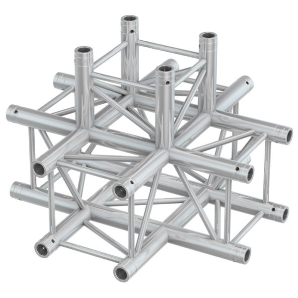 Square Truss 5 Way Junction