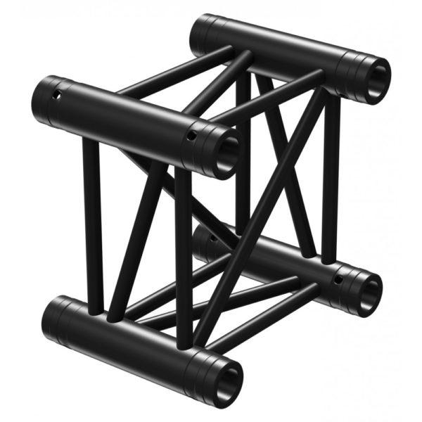 Square Truss Straight 210mm Black