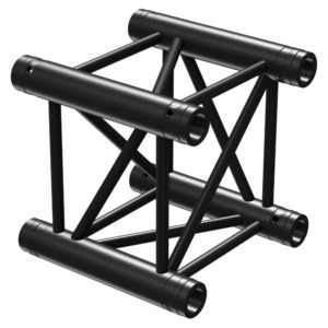 Square Truss Straight 290mm Black