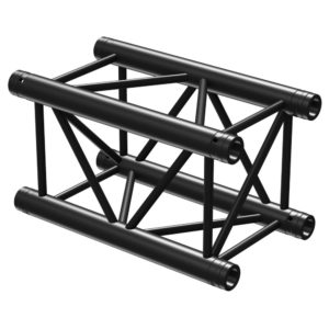 Square Truss Straight 500mm Black