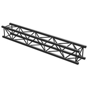 Square Truss Straight 2000mm Black