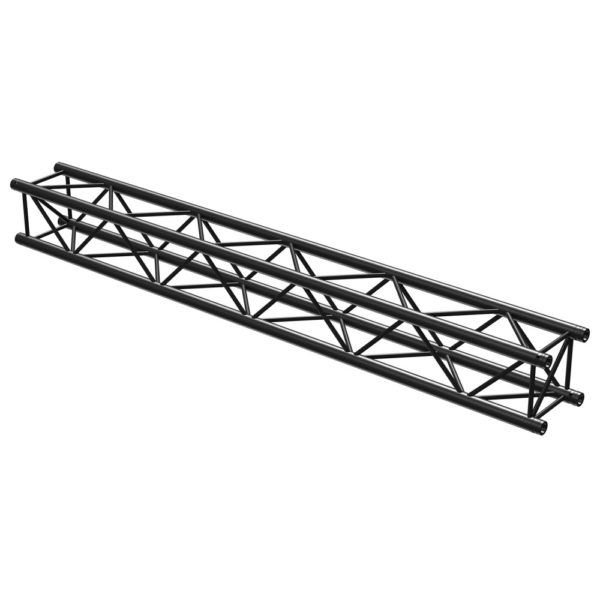 Quad Truss Straight 2500mm Black