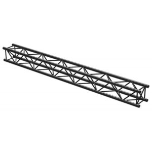 Square Truss Straight 3000mm Black