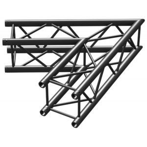 Square Truss 60 Corner Black