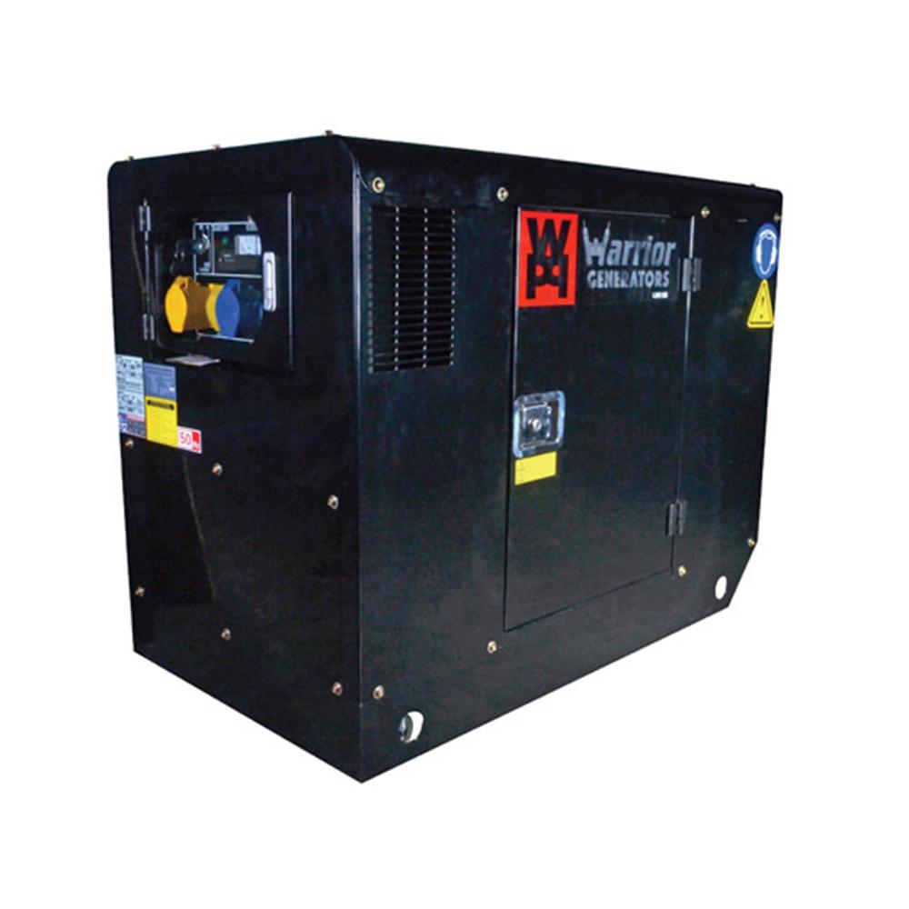 12kW Silent Diesel Generator 12000W - 415V / 240V - 32Amp Output
