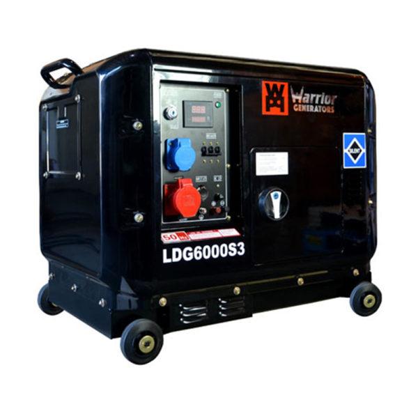 6kW Silent Power Generator