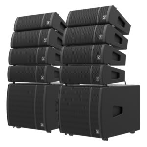 Moose LOUD mini line array system