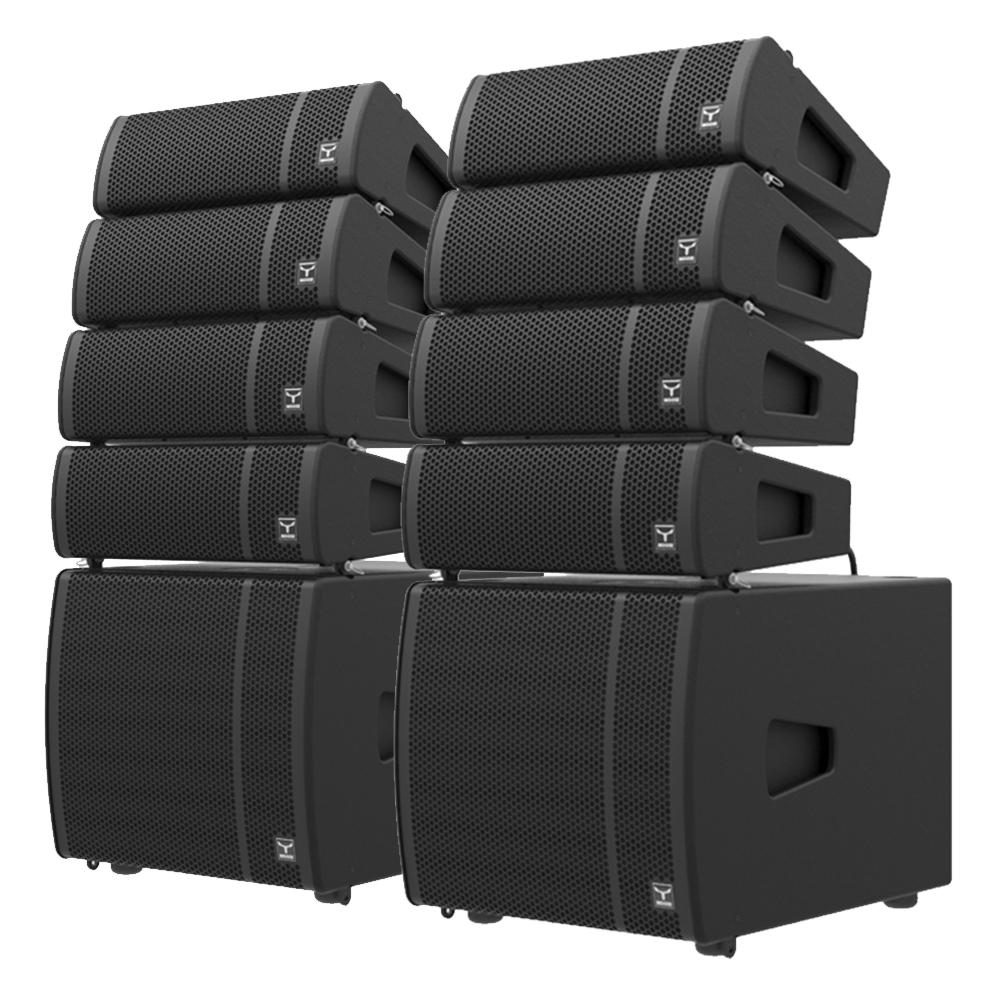 Moose Sound - LOUD Series Active Line Array Speaker System - Complete  Package