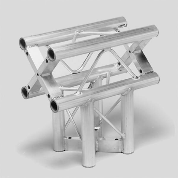 Square Truss 3 Way T Junction