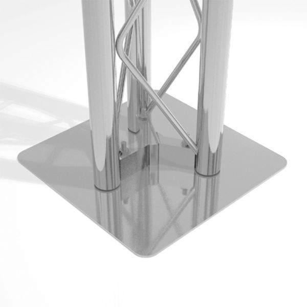 Triangle Truss Foot Plate
