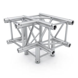 Square Truss 3 Way Corner
