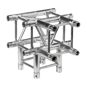 Square Truss 4 Way Junction