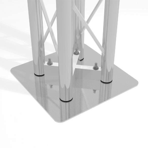 Square Truss Base Plate