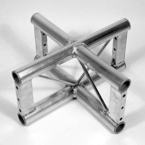 Vertical Truss 4 Way Junction