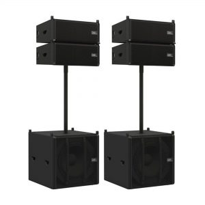 DAP ODIN Line Array Speaker Satellite Set