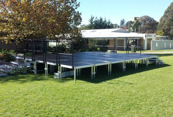 Large Outdoor Stage System
