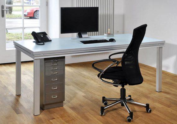 Aluminium Frame Computer Desk