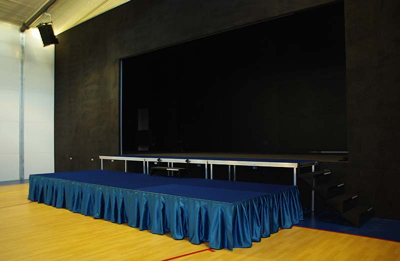 Temporary Stage