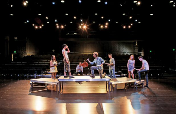 Drama Stage Deck Platforms