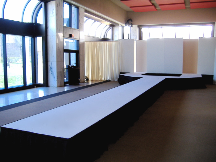 Catwalk Stage and portable fashion runways