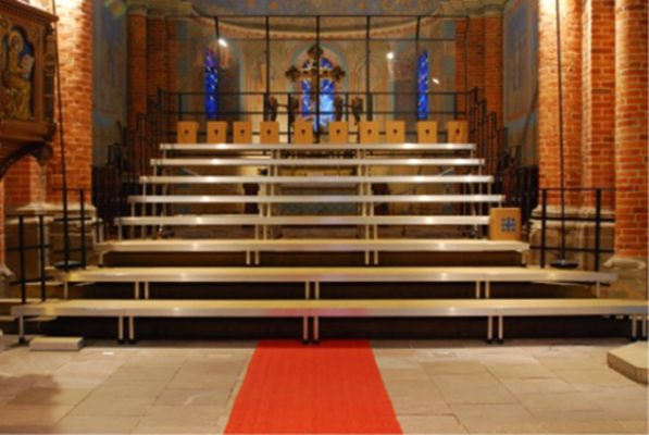 Tiered Choir Stage Platform