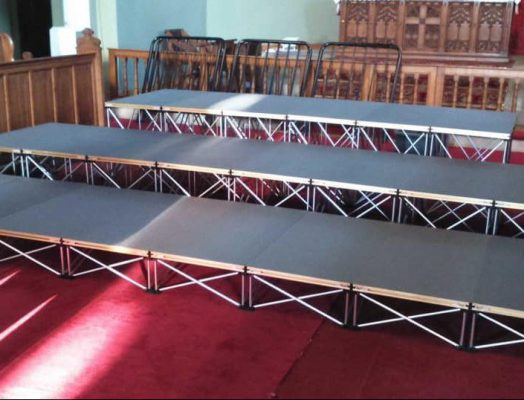 Riser Stage for Church Choir