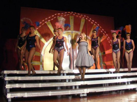School Drama Stage Platforms