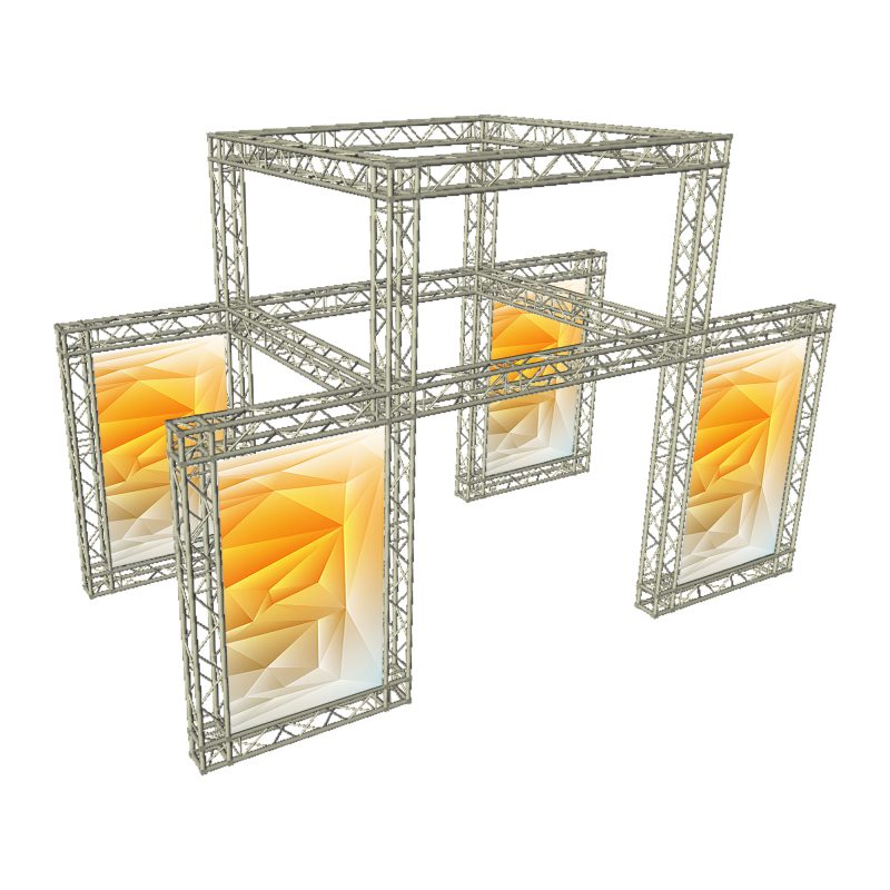 Exhibition Stand Truss : Trussing lighting stage truss exhibition stands