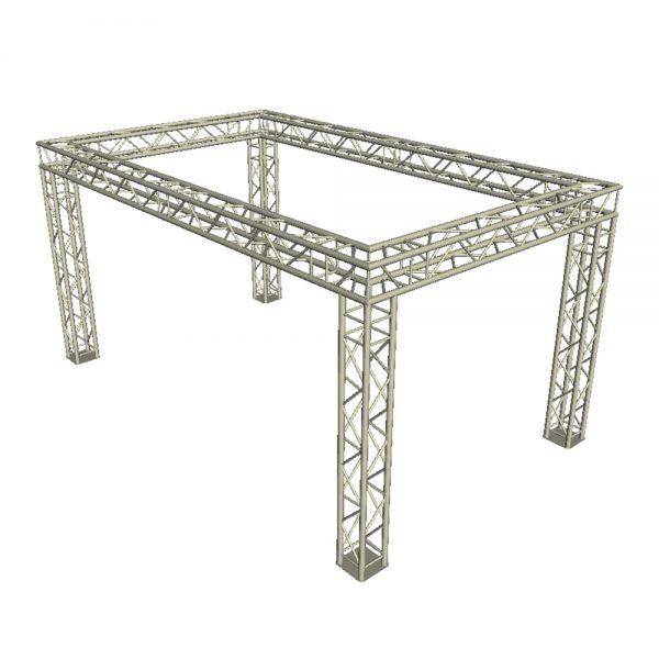 Box Truss System 4m x 3m x 3m