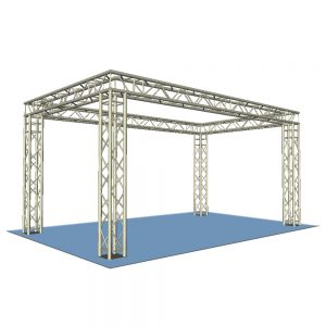 Box Truss Display Stand 4x3m