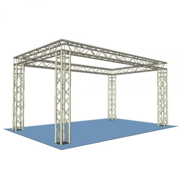 Box Truss Display Stand 4x3m