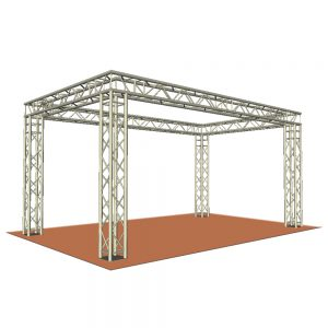 Large Rectangle Truss Display