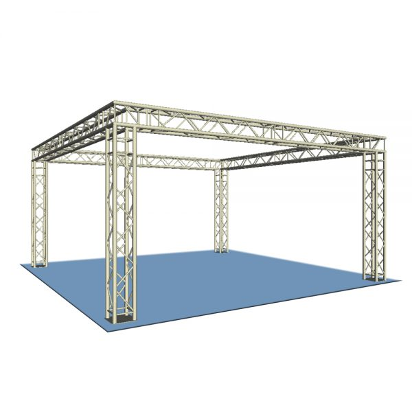 Square Truss Display Stand 4x4m