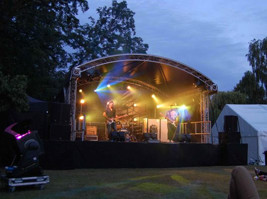Small Outdoor Stage Roof