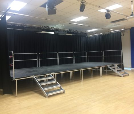 Large Stage Deck System