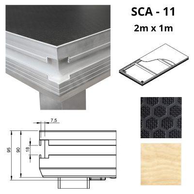 Alustage SCA11 Stage Platform