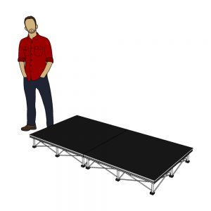 Portable Stage Package 2m x 1m x 20cm