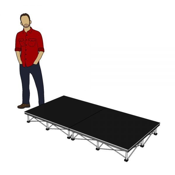 Stage Platform Package 2m x 1m x 20cm