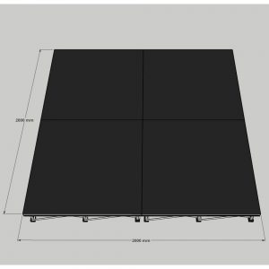Riser Stage System 2x2m