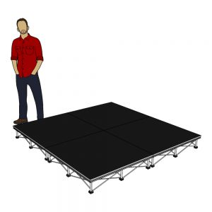 Portable Stage Package 2m x 2m x 20cm