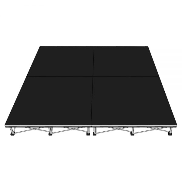 Riser Stage Package 2x2m x20cm