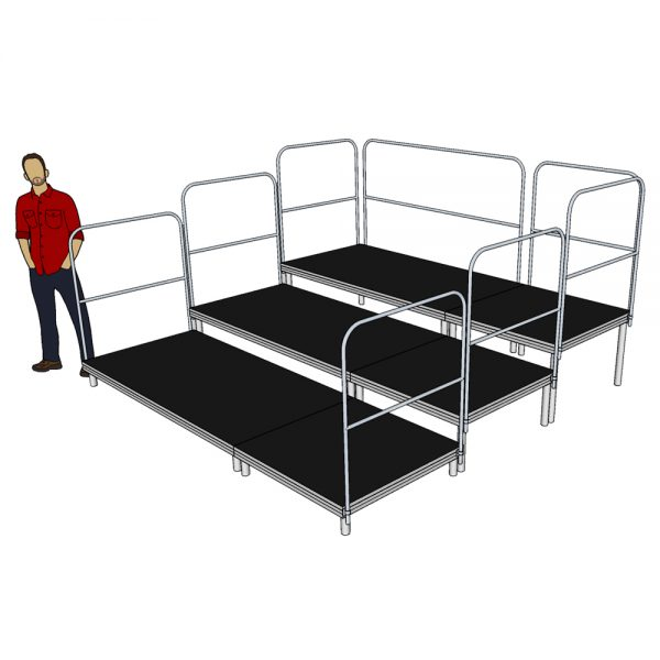 Tiered Stage Seating 3m x 3m