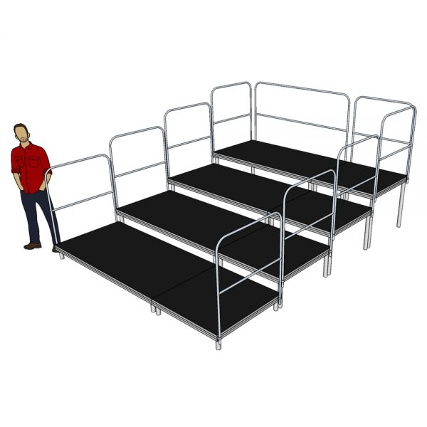 Tiered Stage Seating 3m x 4m