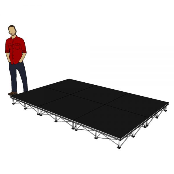 Portable Stage System 3m x 2m x 20cm