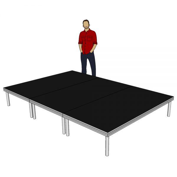 Stage Deck System 3m x 2m x 400mm